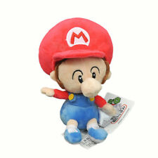 """NEW Super Mario Bros Series 5"""" BABY Mario Stuffed Plush Toy Doll with tag"""