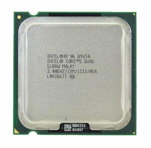Core 2 Quad Q9650, LGA 775, 3,00 GHz, 12MB Cache  (inkl.19% MwSt)
