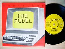 "Kraftwerk The Model / Computer Love A-1 B-1 UK 7"" EMI 5207 1981 EX/EX"