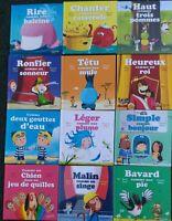 Lot 12 Livres  '' Série c'est comme ça '' Pour Mac Do  par Marc Levy
