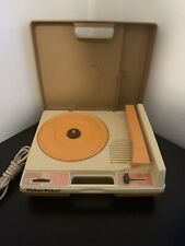 Fisher Price 825 1978 Toy Portable Record Player 45-33 Vinyl Turntable Retro VTG