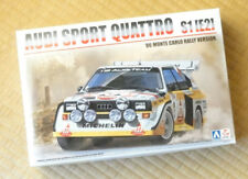 Audi Sport Quattro S1 E2 - 86 Monte Carlo Rally 1:24 BEEMAX No.21 Model kit