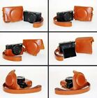 New Brown /Tan Leather Camera Case Bag For SONY Cyber Shot DSC RX100III RX100M3