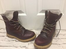 Womens Leather Timberlands Boots Uk5 EU38 US7 Fur Lined Winter Boots