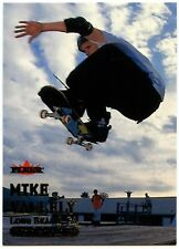 Mike Vallely Skateboard #57 Fleer Adrenaline 2000 Gold Text Card (C311)
