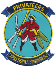 Strike Fighter Squadron 132 VFA-132 United States Navy USN Embroidered Patch