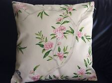 "Designer Guild ROSA Chinensis' Fabric Pillow Cushion Cover  100% cotton 18"" #2"