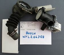 LAVATRICE BOSCH WFL2463GB Alloggiamento Filtro la pompa di scarico e tubo fless + porta di accesso