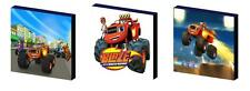 BLAZE AND THE MONSTER MACHINES ART BLOCKS/ WALL ART PLAQUES/PICTURES
