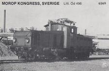 AK UNREAD Morop Congress Sweden litt. öd 496 (G2505)