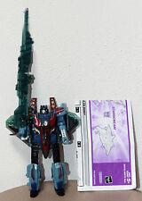 Transformers Energon Strascream Unicron Trilogy Ghost, con armi e libretto. 98%