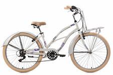 "Beachcruiser 26"" Kahuna Blanc 6 Vitesses TC 41 cm Cruiser KS Cycling 770B"