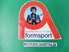 ADESIVO STICKER FORMSPORT SANDRO ALTOBELLI INTER F.C CALCIO PUBBLICITA SCARPE