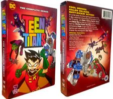 Teen Titans The Complete Series 1-5 (Dvd,2018,7-Disc Set,Region 1,Us Seller)