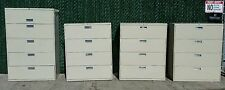 Choice of HON 4 Drawer or 5 drawer/cubby Heavy Duty Lateral Filing Cabinet Putty