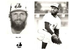 """Bill Lee """"Montreal Expos"""" Licensed MLB Unsigned 8x10 Glossy B&W Photo A1"""