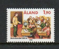 Aland 1989 350th Anniv 1st Aland School Saltvik SG39 unmounted mint stamp
