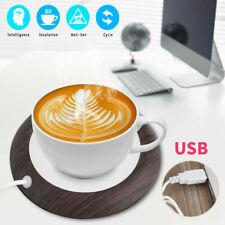 80°C 5W USB Cup Warmer Mat Coffee Tea Milk Drink Heater Pad Office Home US