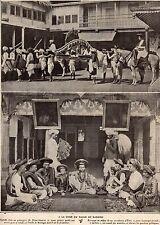 IMAGE 1911 PRINT INDE INDIA COURS RAJAH DE KARAULI KEROWLEE