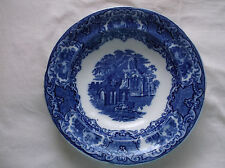 ABBEY  1790   BLUE  /  WHITE   BOWL 1920s