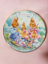 "1992 ""Colorful Moments"" Easter Plate 5"" Avon"