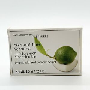 Bath and Body Works Pleasures Coconut Lime Verbana Soap Travel Size