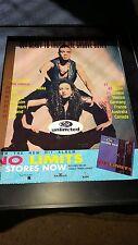 2 Unlimited No Limits Rare Original Promo Poster Ad Framed!