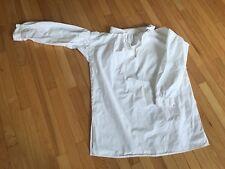 True Antique Victorian Edwardian mens work wear chore shirt cotton textile