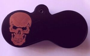 Twin Magazine Holder Compatible with Kral Puncher Range 177 and 22 (SKULL)