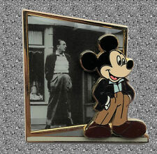 Started With Walt Pin D - Walt & Mickey on Main Street - DISNEY Pin LE 600