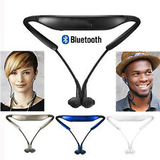 Neckband Wireless Bluetooth Headset Headphone Stereo Earphone for Huawei iphone