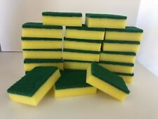 Lot of 20pcs Kitchen Sponges Scrubber Scrub Scourer for Washing Cleaning Dishes