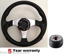 300MM sports course volant et boss kit fit vauxhall corsa b astra opel