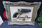 "VINTAGE 1956 SIMON PURE BEER SIGN....""SHARPS FOUR SHOOTER""...BUFFALO NY"