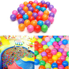 200pcs Soft Plastic Colorful Kids Secure Ocean Ball Baby Pits Swim Pool Toys