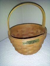 Longaberger Discovery Basket 1492-1992