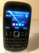 Nokia Asha 201 - Black (Unlocked) Smartphone Mobile QWERTY