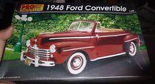 Revell/Monogram Pro Modeler 1948 Ford Convertible 1/25 Model Car Mountain FS