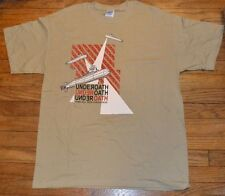 Underoath Mens L  T-Shirt Some Will Seek Forgiveness They're Only Chasing Safety