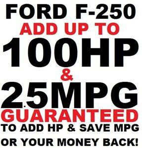 Performance Chip Ford F250 5.4L 6.2L 6.8L Truck Programmer Save Gas 1996-2019