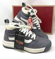 VANS UltraRange Hi DL MTE Suede Sherpa Grey Women's  Sneakers Boot VN0A4BU5XND