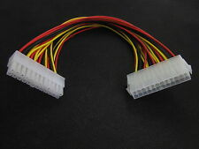 1x24Pin Power Supply Extension cable ATX PC PSU Male to Female Port M/F Extender