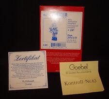 Goebel Hummel W. Germany Christmas Gift Ornament 2074/A/O 1387 Figurine Box Only