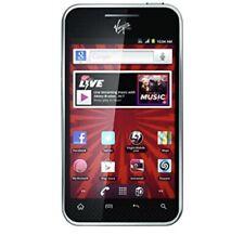 New Sealed Virgin Mobile Lg Optimus Elite  Android Cell phone - VM696 Model