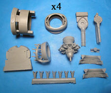 1/48 Vector resin B-24 Liberator Engines and Cowls for RMX kit - VDS48078