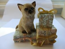 Lenox Cat Figurine with Precious Presents * New in Box * With Coa