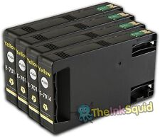 4 Yellow T7014 non-OEM Ink Cartridge For Epson Pro WP-4525DNF WP-4535DWF