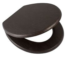 Wenge Effect Soft Close Toilet Seat Awd02181098