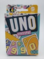 Mattel UNO Retro Classic Version Family Card Game #3 of 5 in Series - 1990's