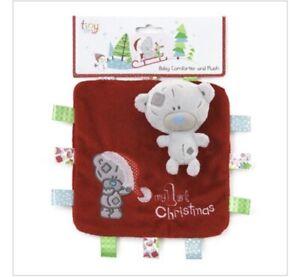 Tiny Tatty Teddy Christmas Baby Comforter And Plush Brand New